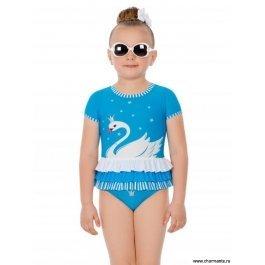 Плавки+футболка пляжная для девочек Charmante GPF 071804