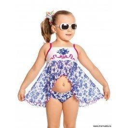 Плавки+платье пляжное для девочек Charmante GPQ 021701