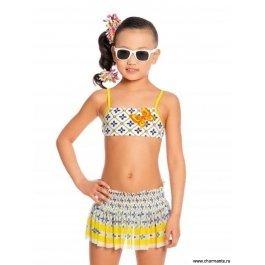 Купальник для девочек+юбка Charmante GRU 031702