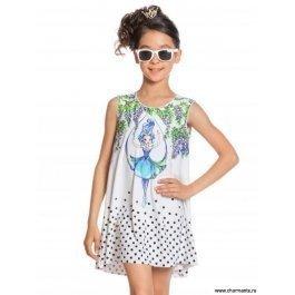 Платье пляжное для девочек Charmante GQ 021707AF White Fairy