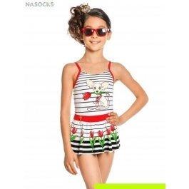 Купальник слитный для девочек Charmante GS 011703AF Lemira