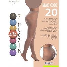 Колготки женские 7 Plezir Maxi Code 20 den