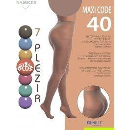 Колготки женские 7 Plezir Maxi Code 40 den