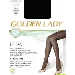 Распродажа колготки женские полиамидные, повседневные Golden Lady Leda 20 den