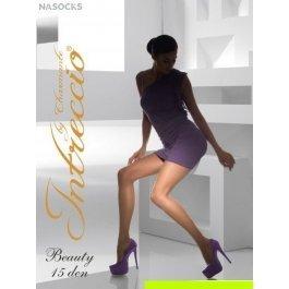 Распродажа колготки женские классические с шортиками, без ластовицы INTRECCIO  15 DEN BEAUTY 15