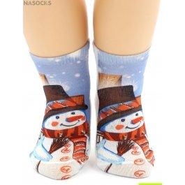 "Носки Hobby Line HOBBY 3Д101-1 носки детские ""Снеговик"""