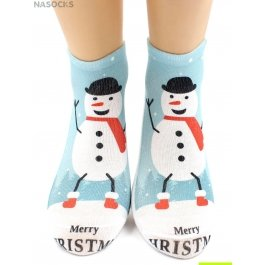 "Носки Hobby Line HOBBY 3Д104-02 носки детские ""Снеговик"""