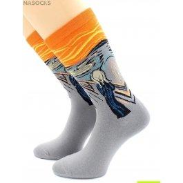 """Носки Hobby Line HOBBY 211 носки ART дизайн """"Крик"""" Эдвард Мунк"""