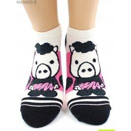 Носки Hobby Line HOBBY 529-1-2 носки укороченные поросята