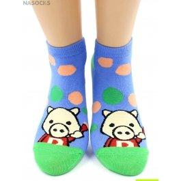 Носки Hobby Line HOBBY 529-1-3 носки укороченные поросята