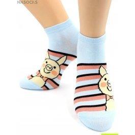 Носки Hobby Line HOBBY 529-1-4 носки укороченные поросята