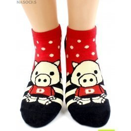 Носки Hobby Line HOBBY 529-1-5 носки укороченные поросята