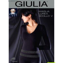 Джемпер Giulia MAGLIA LUREX SCOLLO V