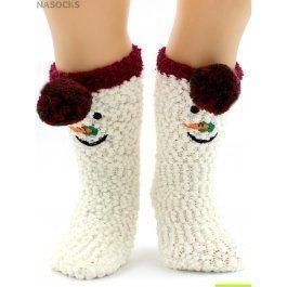 Носки Hobby Line HOBBY 3006 носки детские буклир.махра Снеговик 3Д