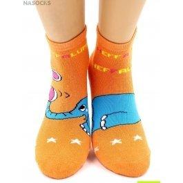 """Носки Hobby Line HOBBY 3601 носки детские махровые внутри """"Слоник-жонглер"""""""