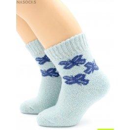 Носки Hobby Line HOBBY 7626 носки детские ангора, махра внутри, бантики