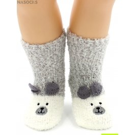 """Носки Hobby Line HOBBY 3316 носки детские махровые травка """"Мишка 3Д"""""""