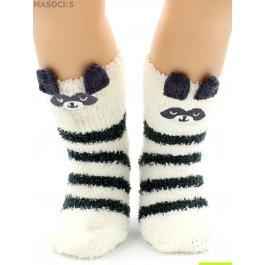 "Носки Hobby Line HOBBY 3317-2 носки детские махровые травка ""Пандочка 3Д"""