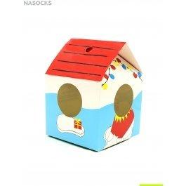 Аксессуары Hobby Line HOBBY коробочка для носков в форме домика-будки д/мальч
