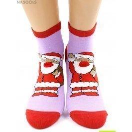 "Носки Hobby Line HOBBY 3Д93 носки женские ""Новогоднее ассорти"""
