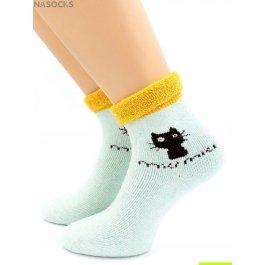 Носки Hobby Line HOBBY 6052 носки ангора, махра внутри, кошка