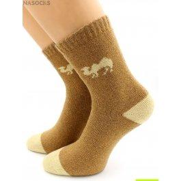 Носки Hobby Line HOBBY 6536 носки ангора, махра внутри, с верблюдом