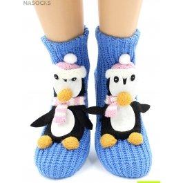 "Носки Hobby Line HOBBY 073 носки вязаные АВС ""Пингвин"""