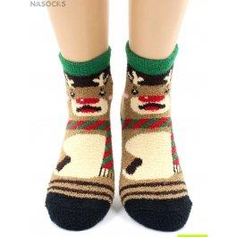 """Носки Hobby Line HOBBY 2213-1 носки махровые-пенка """"Новогодние"""""""