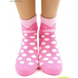 Носки Hobby Line HOBBY 2238 носки махровые-пенка в горошек