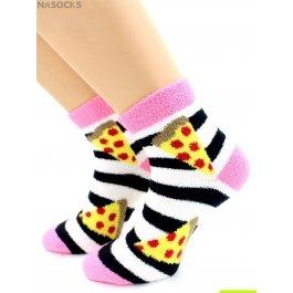 """Носки Hobby Line HOBBY 2263 носки махровые-пенка """"Пицца"""""""