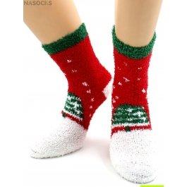 "Носки Hobby Line HOBBY 049-3 носки махровые-травка  ""Елочка"""