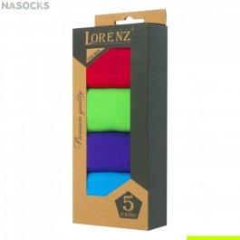 Подарочный набор ярких мужских носков, 5 пар,  Р6