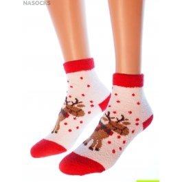 """Носки Hobby Line HOBBY 2212 носки махровые-пенка """"Новогодние"""""""