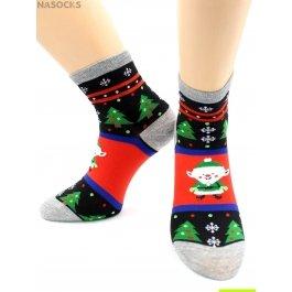 Носки Hobby Line HOBBY 468 носки экслюзив елочки и новогодние герои