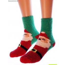 "Носки Hobby Line HOBBY 053-7 носки махровые-травка ""Санта Клаус"""