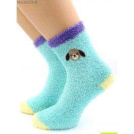 Носки Hobby Line HOBBY 2223-1 носки махровые-травка, вышита собачка