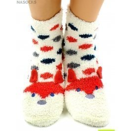 "Носки Hobby Line HOBBY 2360 носки махровые-травка ""Лисичка 3Д"""