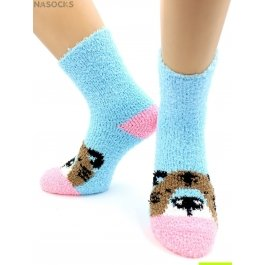 Носки Hobby Line HOBBY 2367 носки махровые-травка, тигр