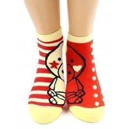 Носки Hobby Line HOBBY 432-1 носки хлопковые половинки поросенок