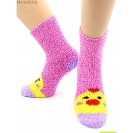 """Носки Hobby Line HOBBY 2369 носки махровые-травка """"Цыпленок 3Д"""""""