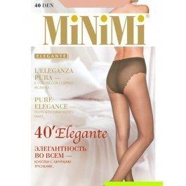 Распродажа колготки женские классические, с утягивающими трусиками MiNiMi Elegante 40 den