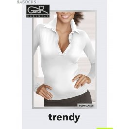 Распродажа джемпер женский бесшовный с треугольным вырезом Gatta Polo Classic