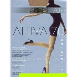 Распродажа колготки женские компрессионные OMSA Attiva 70 den XL