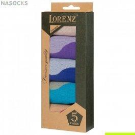 Подарочный набор мужских носков, 5 пар Lorenz  Р42