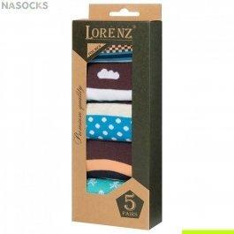 Подарочный набор мужских носков, 5 пар Р43