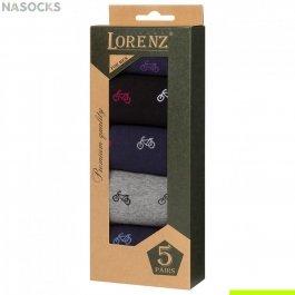 Подарочный набор мужских носков, 5 пар Р40