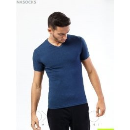 Футболка Oxouno OXO 0055 KULIR Slim fit V-вырез