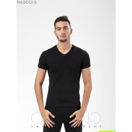Футболка Oxouno OXO 0057 KULIR Slim fit V-вырез