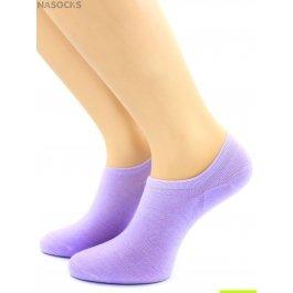 Носки Hobby Line HOBBY 562-10 носки укороченные женские х/б, фиолетовый