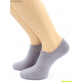 Носки Hobby Line HOBBY 562-12 носки укороченные женские х/б, темно-серый